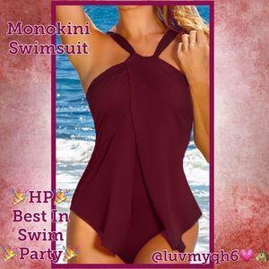 Women's Burgundy Swimsuit 🎉HP🎉